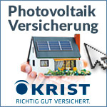Photovoltaik-Versicherung -                                 Solaranlagenversicherung bei                                 Spezialversicherungen Krist (Bayern)
